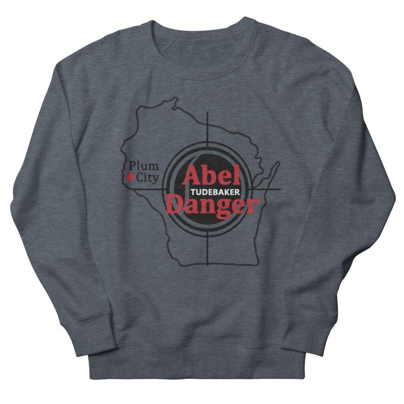 Abel Danger Logo Merchandise Women's French Terry Sweatshirt by Abel Danger Artist Shop