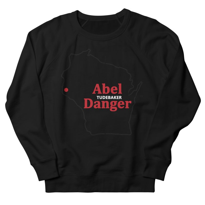 Abel Danger Logo Merchandise Men's French Terry Sweatshirt by Abel Danger Artist Shop