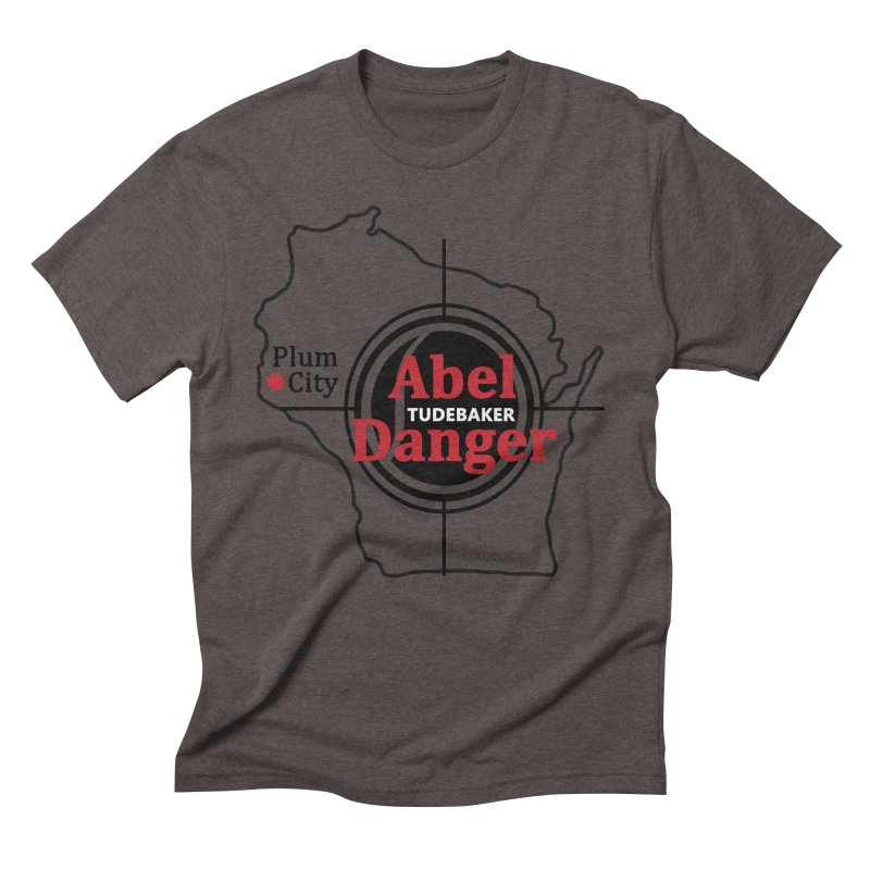 Abel Danger Logo Merchandise Men's Triblend T-Shirt by Abel Danger Artist Shop