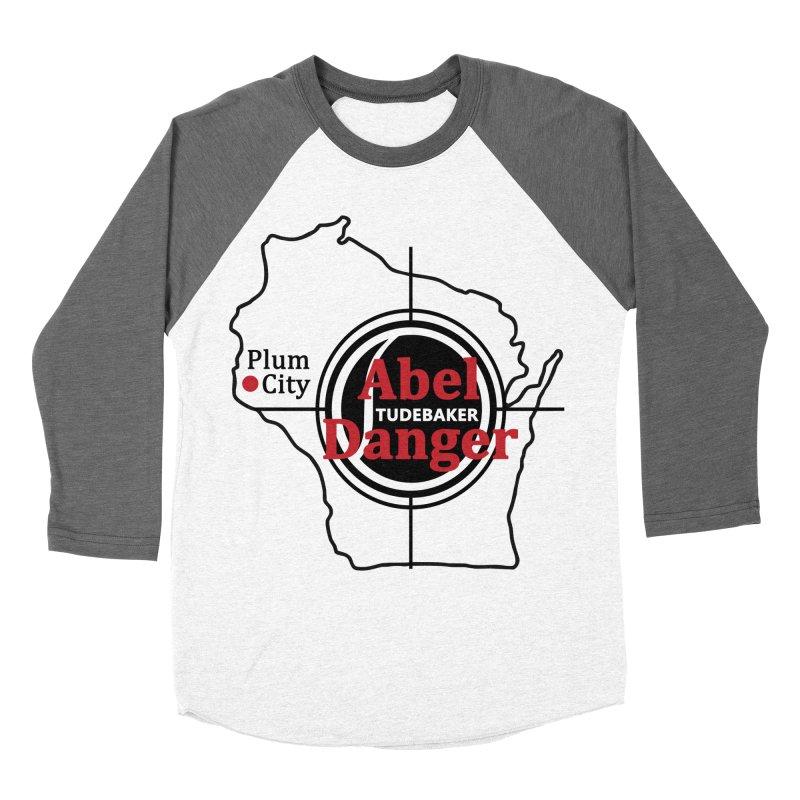 Abel Danger Logo Merchandise Women's Baseball Triblend Longsleeve T-Shirt by Abel Danger Artist Shop