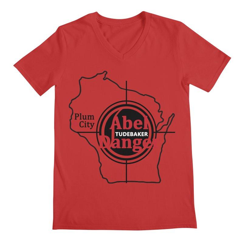 Abel Danger Logo Merchandise Men's Regular V-Neck by Abel Danger Artist Shop