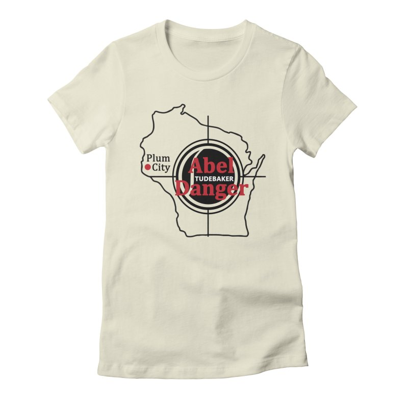 Abel Danger Logo Merchandise Women's Fitted T-Shirt by Abel Danger Artist Shop