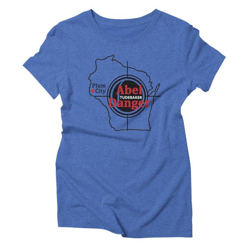 Abel Danger Logo Merchandise Women's Triblend T-Shirt by Abel Danger Artist Shop