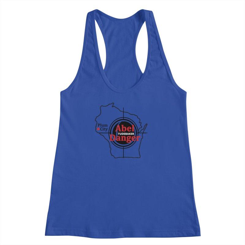 Abel Danger Logo Merchandise Women's Racerback Tank by Abel Danger Artist Shop