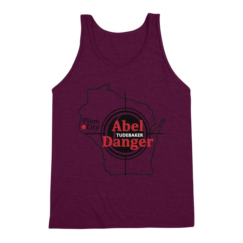 Abel Danger Logo Merchandise Men's Triblend Tank by Abel Danger Artist Shop