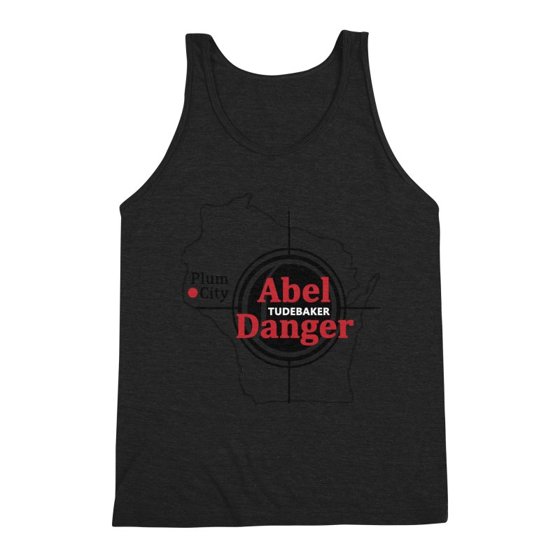 Abel Danger Logo Merchandise Men's Triblend Tank by Abel Danger Artist Shop