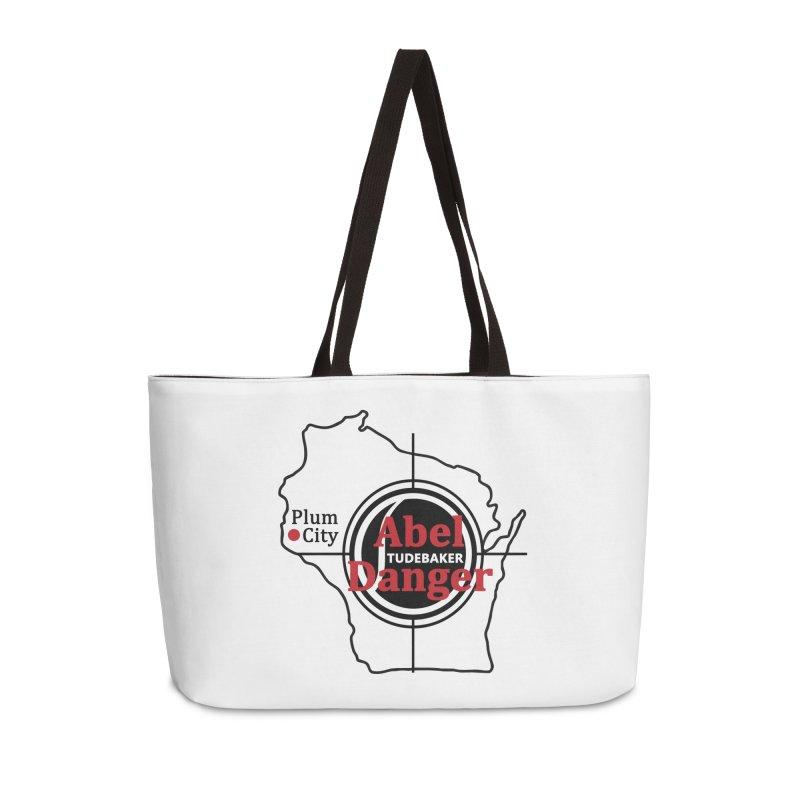 Abel Danger Logo Merchandise Accessories Weekender Bag Bag by Abel Danger Artist Shop