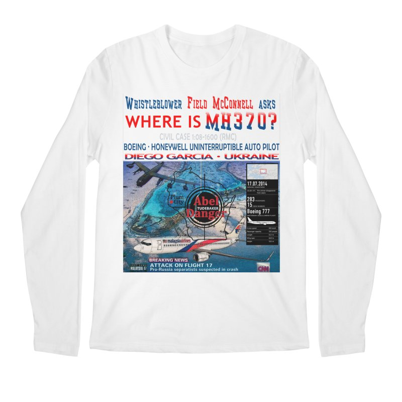 Where is MH370 Men's  by Abel Danger Artist Shop