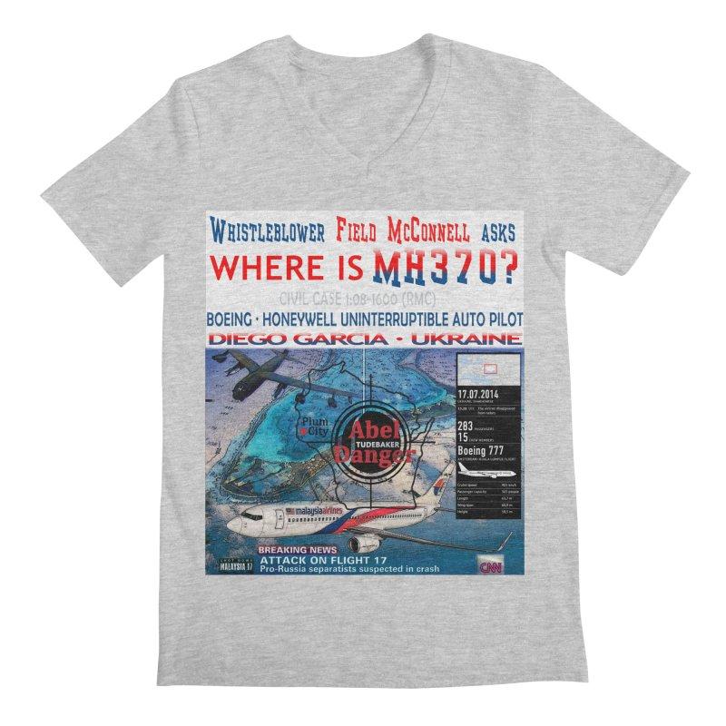 Where is MH370 Men's Regular V-Neck by Abel Danger Artist Shop