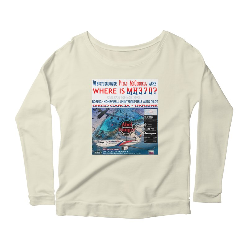 Where is MH370 Women's Scoop Neck Longsleeve T-Shirt by Abel Danger Artist Shop