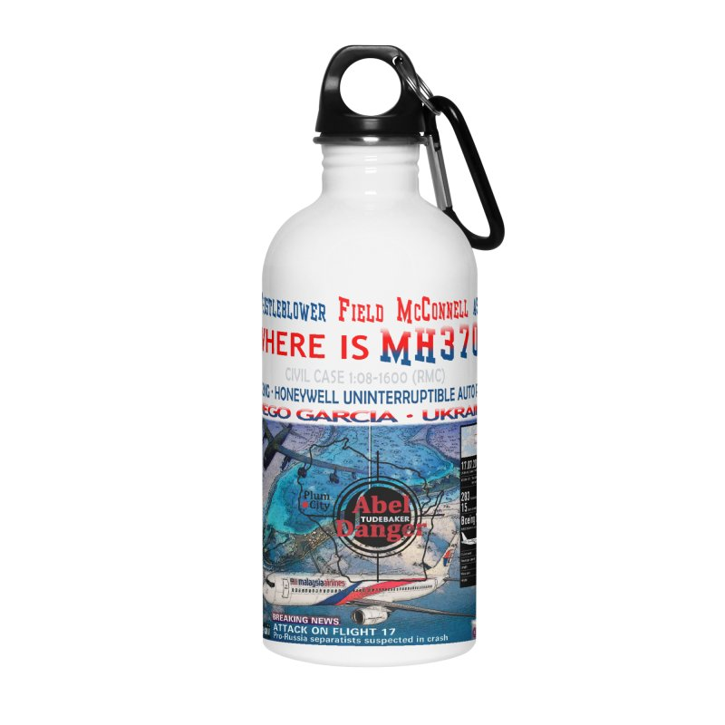 Where is MH370 Accessories Water Bottle by Abel Danger Artist Shop
