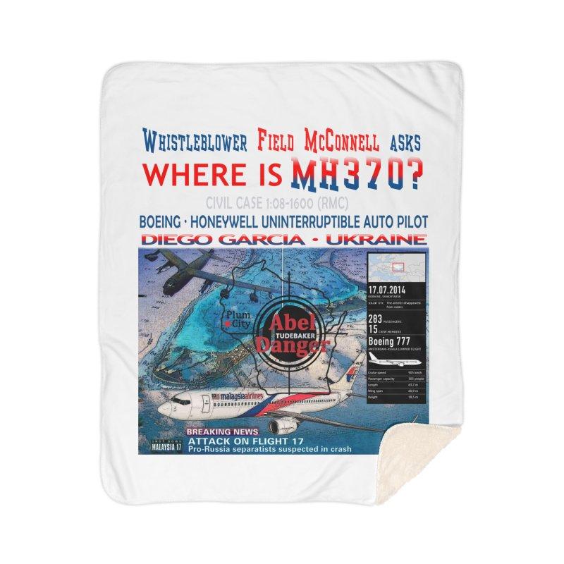 Where is MH370 Home Sherpa Blanket Blanket by Abel Danger Artist Shop