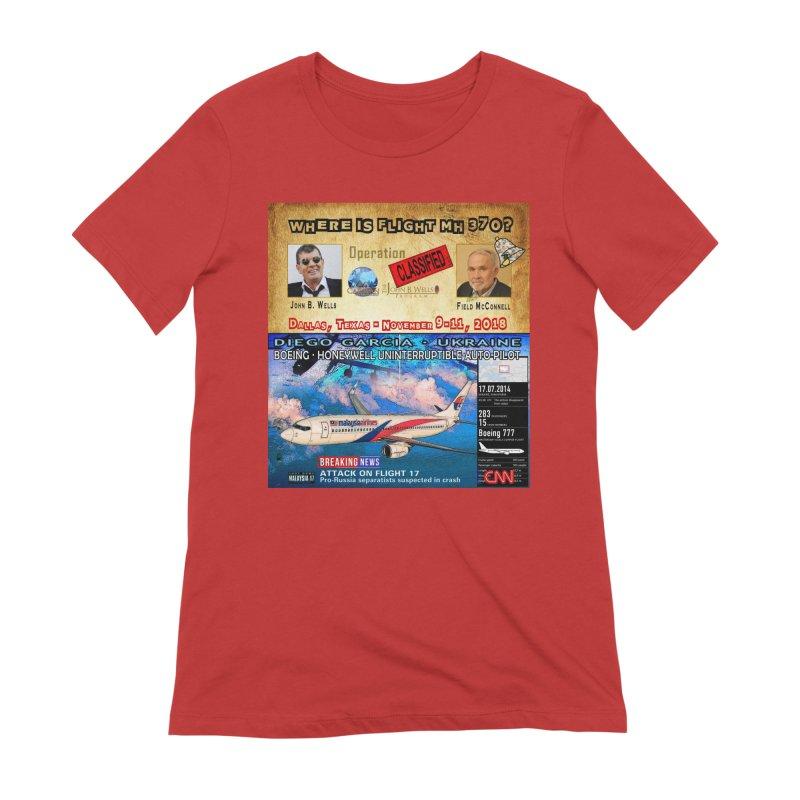 Operation Classified Women's Extra Soft T-Shirt by Abel Danger Artist Shop