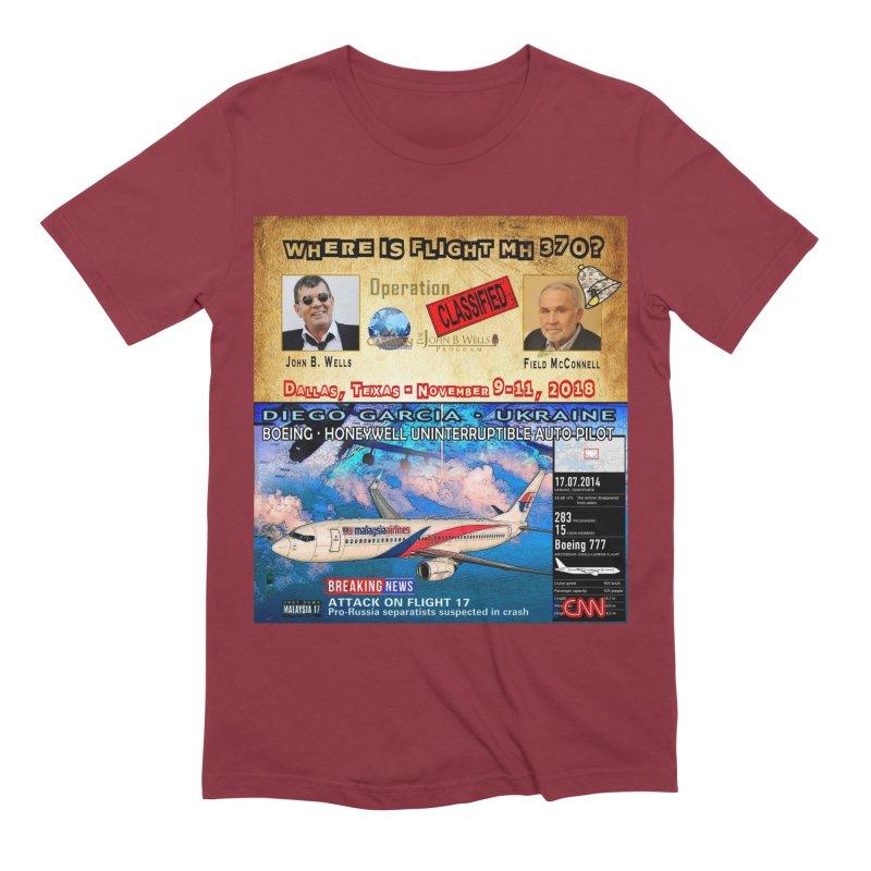 Operation Classified Men's Extra Soft T-Shirt by Abel Danger Artist Shop