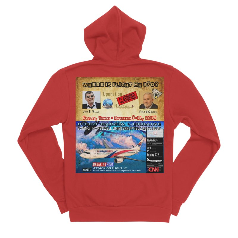 Operation Classified Men's Sponge Fleece Zip-Up Hoody by Abel Danger Artist Shop