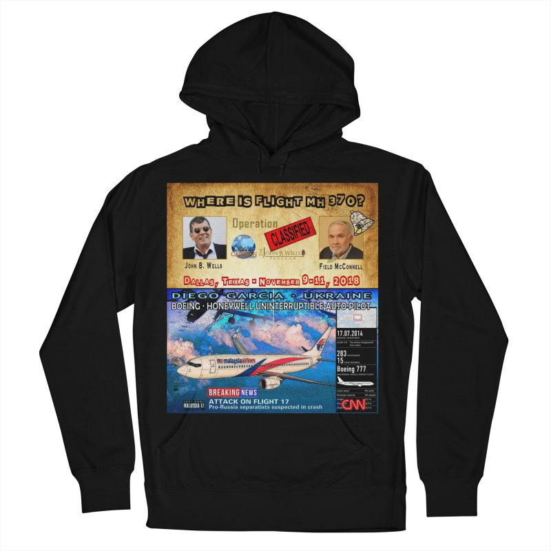 Operation Classified Women's French Terry Pullover Hoody by Abel Danger Artist Shop