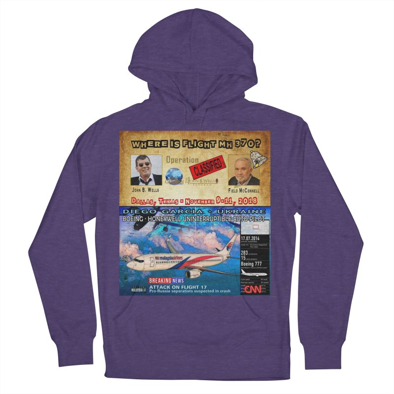 Operation Classified Men's French Terry Pullover Hoody by Abel Danger Artist Shop
