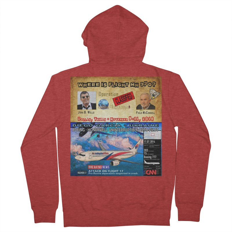 Operation Classified Women's French Terry Zip-Up Hoody by Abel Danger Artist Shop