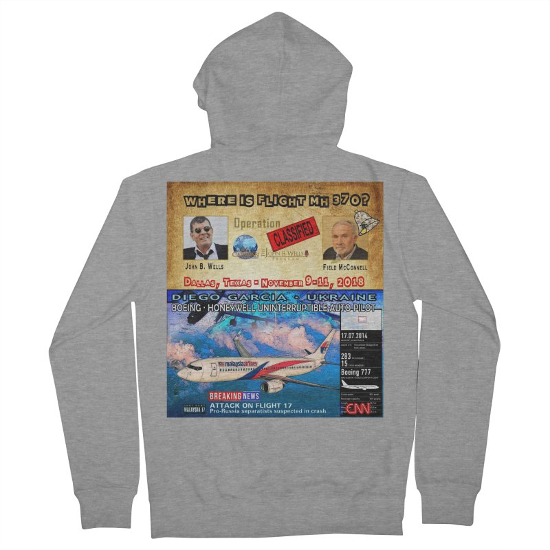 Operation Classified Men's French Terry Zip-Up Hoody by Abel Danger Artist Shop