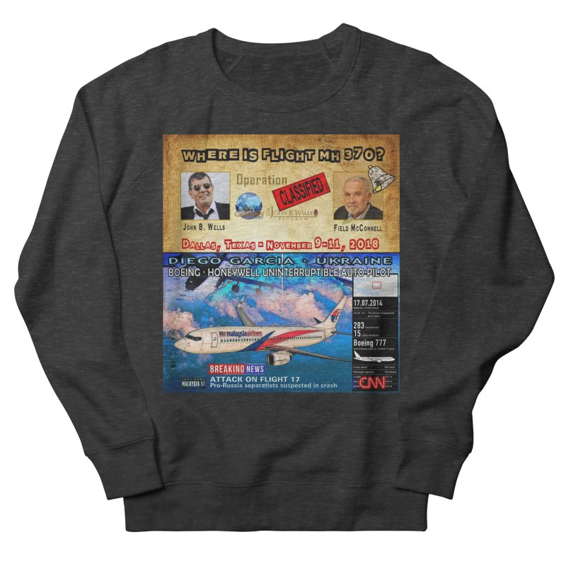 Operation Classified Women's French Terry Sweatshirt by Abel Danger Artist Shop
