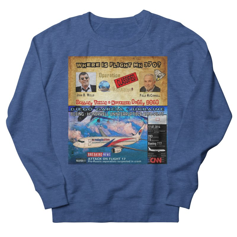 Operation Classified Men's French Terry Sweatshirt by Abel Danger Artist Shop