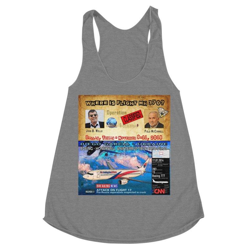 Operation Classified Women's Racerback Triblend Tank by Abel Danger Artist Shop