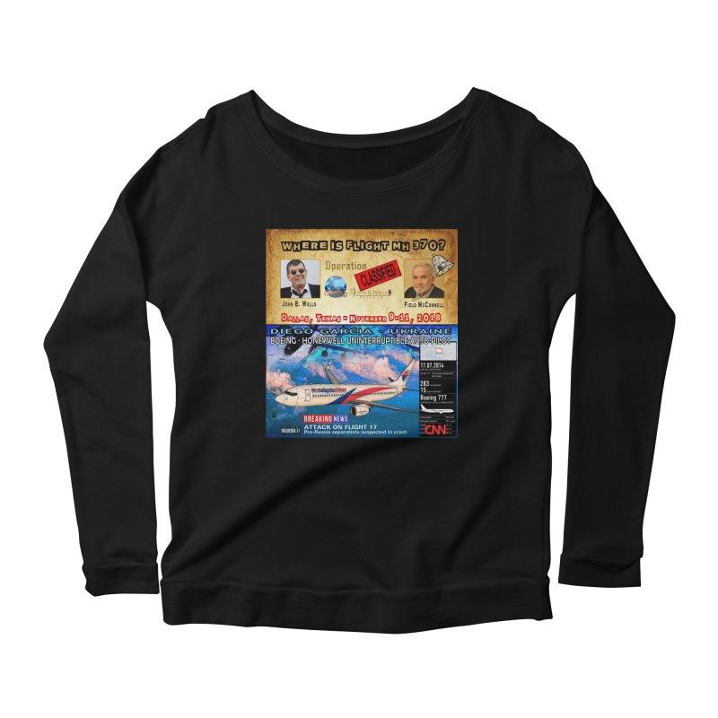 Operation Classified Women's Scoop Neck Longsleeve T-Shirt by Abel Danger Artist Shop