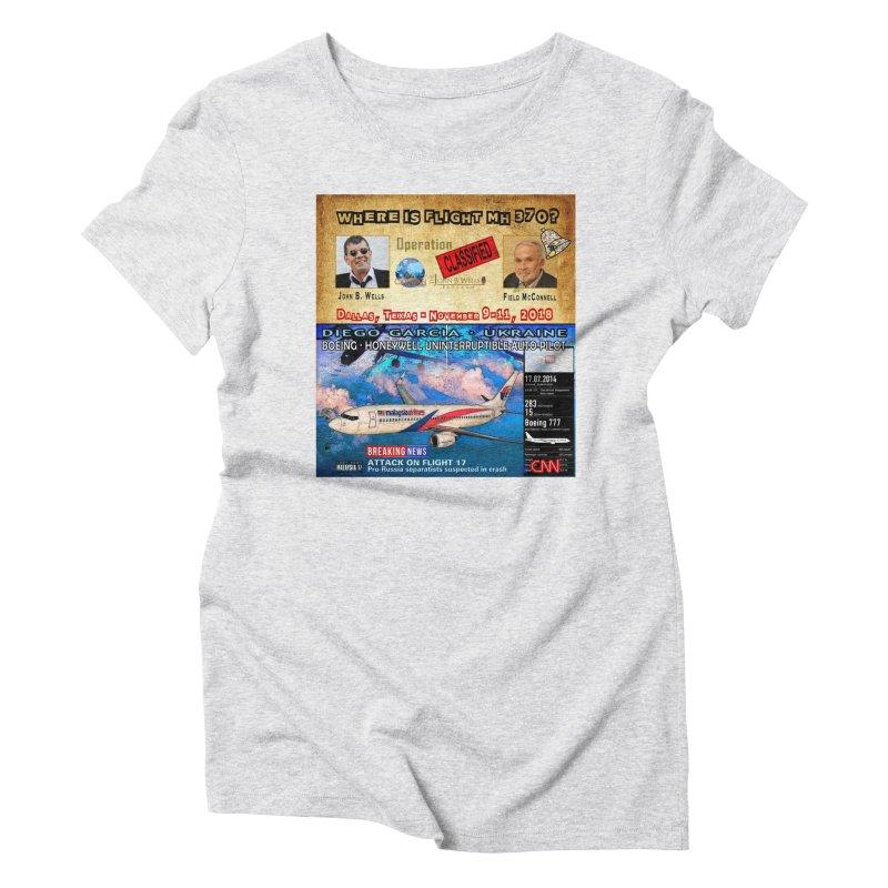 Operation Classified Women's Triblend T-Shirt by Abel Danger Artist Shop