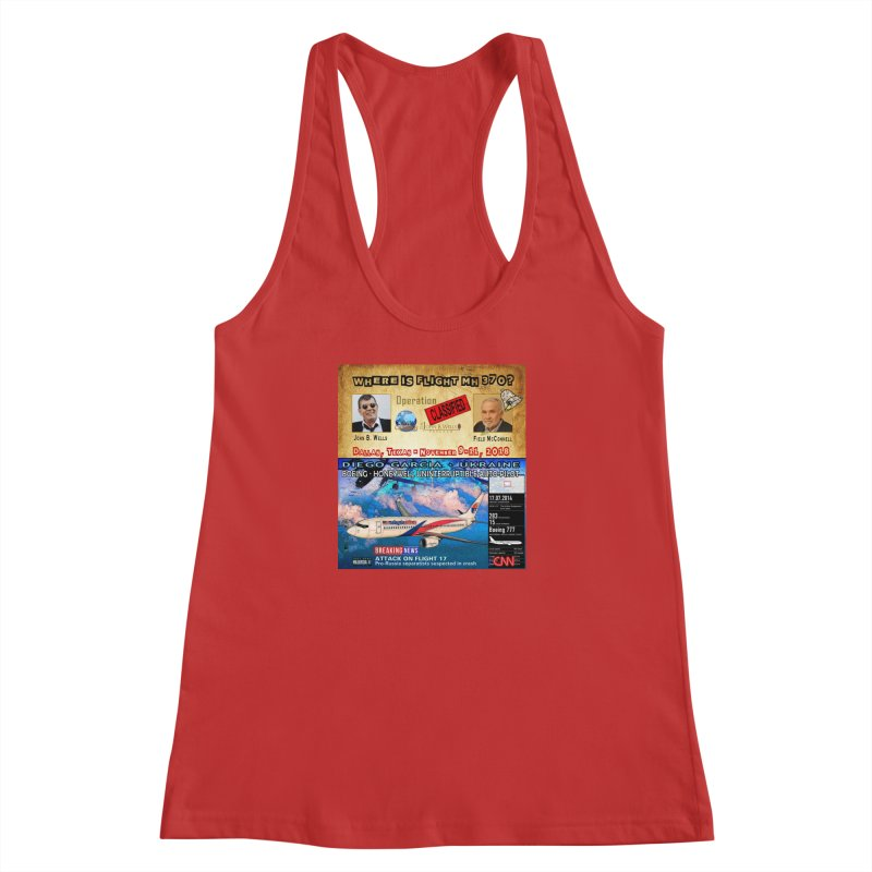 Operation Classified Women's Racerback Tank by Abel Danger Artist Shop