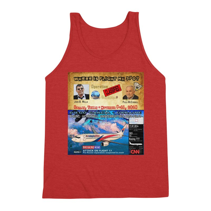 Operation Classified Men's Triblend Tank by Abel Danger Artist Shop