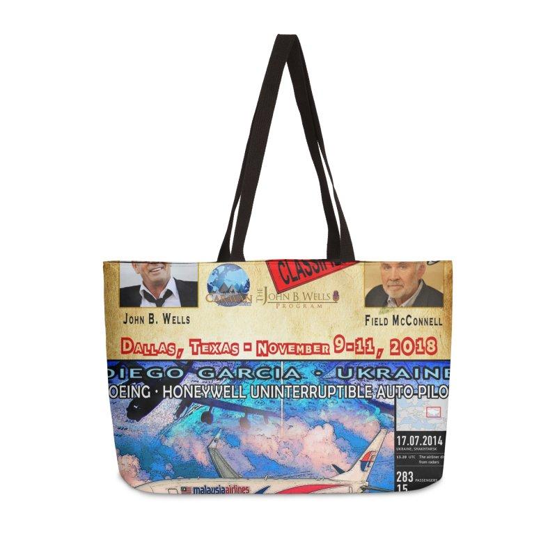 Operation Classified Accessories Weekender Bag Bag by Abel Danger Artist Shop