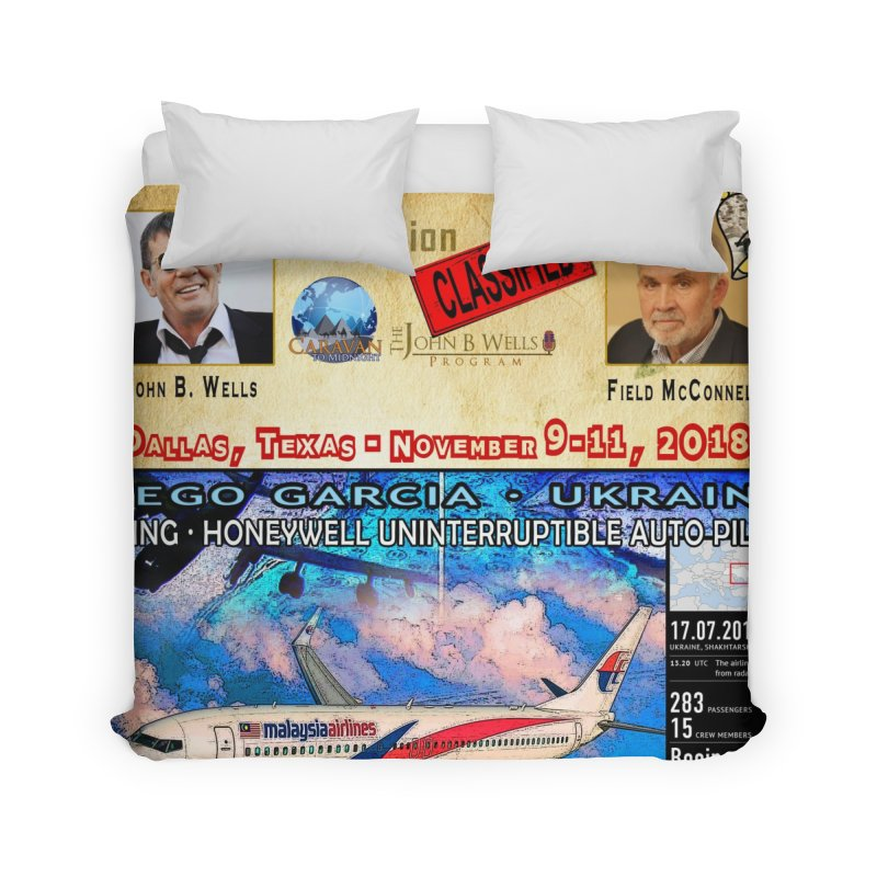 Operation Classified Home Duvet by Abel Danger Artist Shop