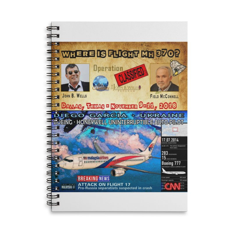 Operation Classified Accessories Lined Spiral Notebook by Abel Danger Artist Shop