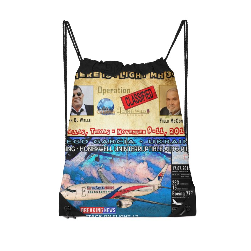 Operation Classified Accessories Drawstring Bag Bag by Abel Danger Artist Shop
