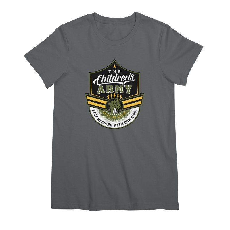 THE CHILDRENS ARMY Women's Premium T-Shirt by Abel Danger Artist Shop