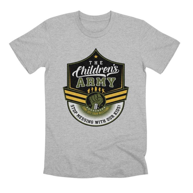 THE CHILDRENS ARMY Men's Premium T-Shirt by Abel Danger Artist Shop