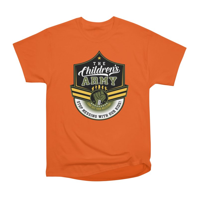THE CHILDRENS ARMY Men's Heavyweight T-Shirt by Abel Danger Artist Shop
