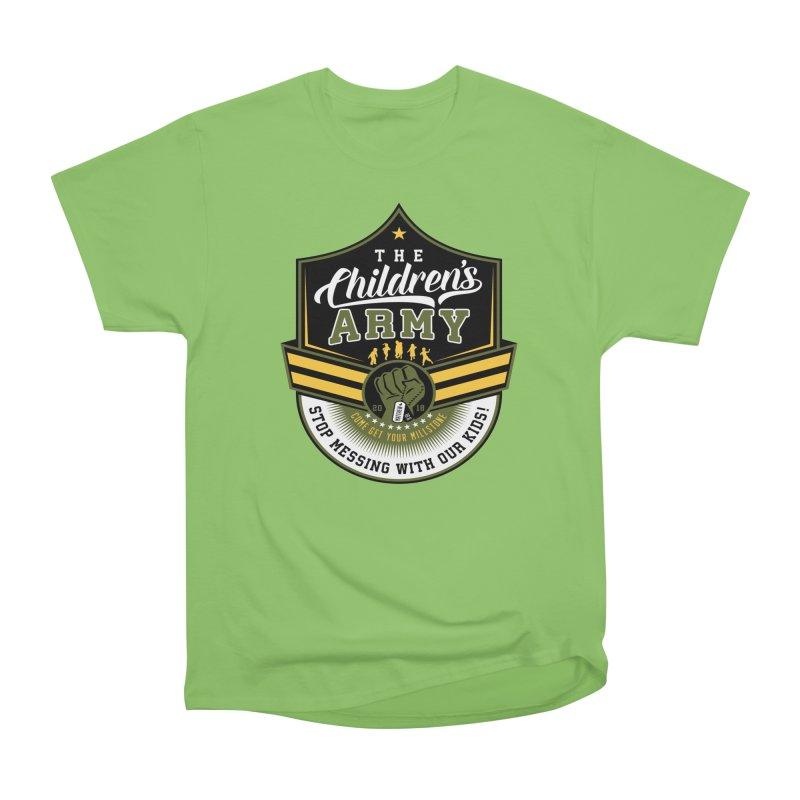 THE CHILDRENS ARMY Women's Heavyweight Unisex T-Shirt by Abel Danger Artist Shop