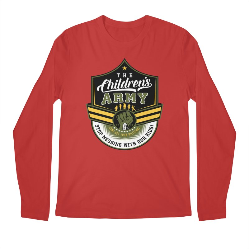 THE CHILDRENS ARMY Men's Regular Longsleeve T-Shirt by Abel Danger Artist Shop