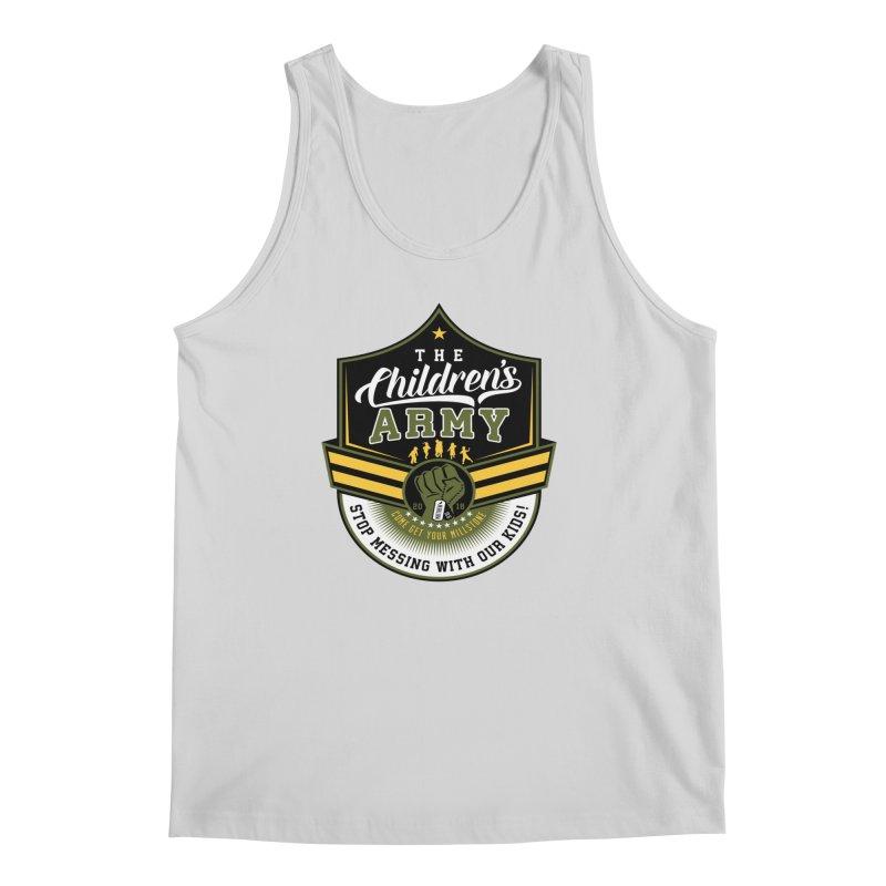 THE CHILDRENS ARMY Men's Regular Tank by Abel Danger Artist Shop