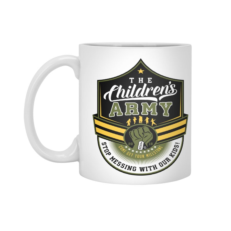 THE CHILDRENS ARMY Accessories Mug by Abel Danger Artist Shop