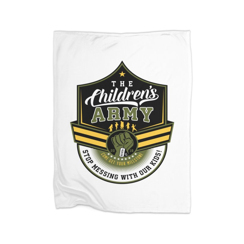 THE CHILDRENS ARMY Home Blanket by Abel Danger Artist Shop
