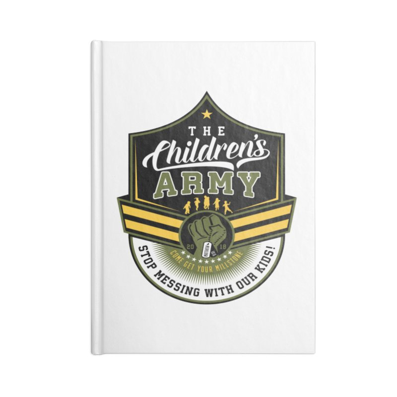 THE CHILDRENS ARMY Accessories Notebook by Abel Danger Artist Shop