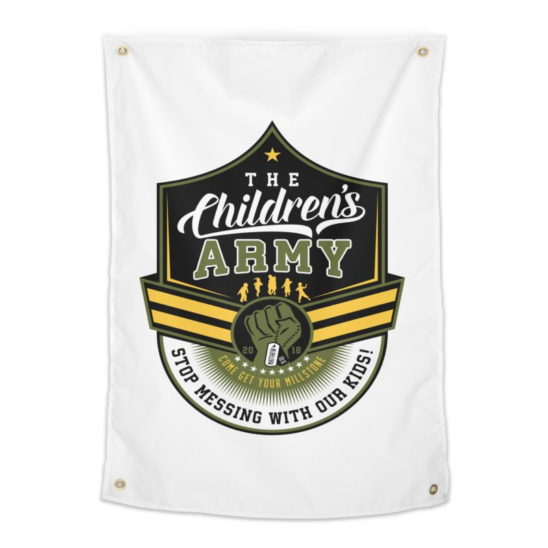 THE CHILDRENS ARMY Home Tapestry by Abel Danger Artist Shop