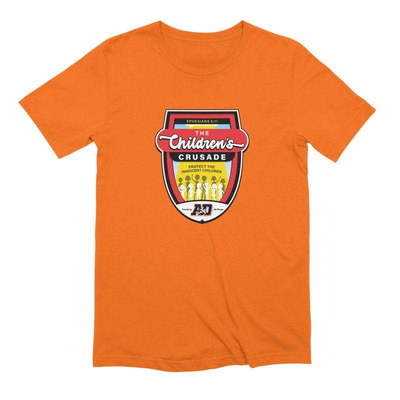 THE CHILDRENS CRUSADE Men's Extra Soft T-Shirt by Abel Danger Artist Shop