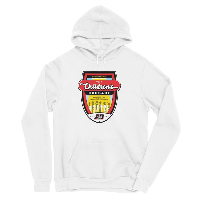 THE CHILDRENS CRUSADE Women's Sponge Fleece Pullover Hoody by Abel Danger Artist Shop