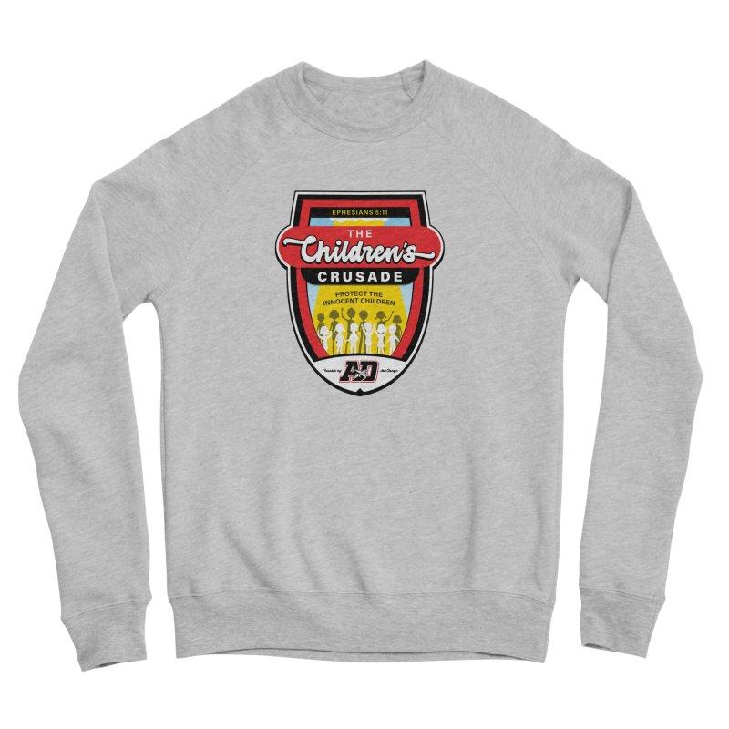THE CHILDRENS CRUSADE Men's Sponge Fleece Sweatshirt by Abel Danger Artist Shop