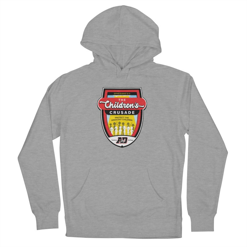 THE CHILDRENS CRUSADE Women's French Terry Pullover Hoody by Abel Danger Artist Shop