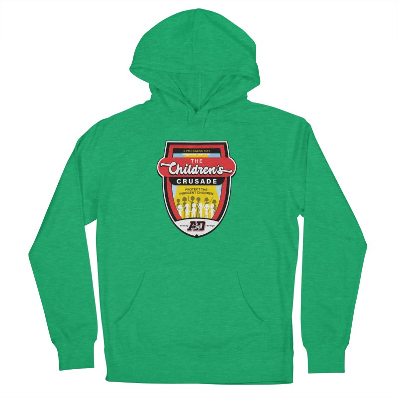 THE CHILDRENS CRUSADE Men's French Terry Pullover Hoody by Abel Danger Artist Shop