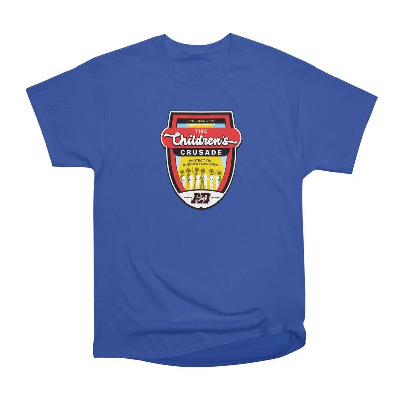 THE CHILDRENS CRUSADE Men's Heavyweight T-Shirt by Abel Danger Artist Shop